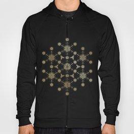 molecule of life. sacred geometry. alien crop circle Hoody