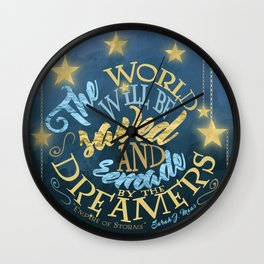Empire of Storms - Dreamers Wall Clock