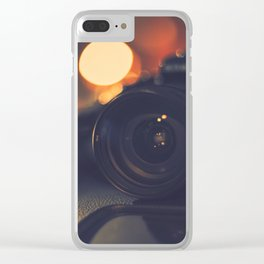 Where beauty is born Clear iPhone Case