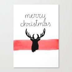 Christmas time - Deer edition Canvas Print