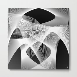 LinesII/ Metal Print
