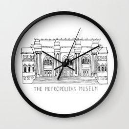 The Metropolitan Museum  Wall Clock
