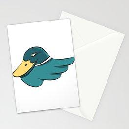 Green Mallard Stationery Cards