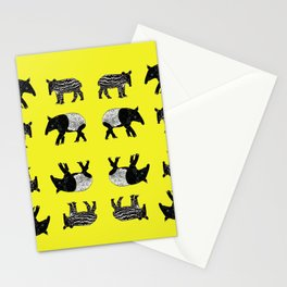 Dance of the Tapirs Stationery Cards
