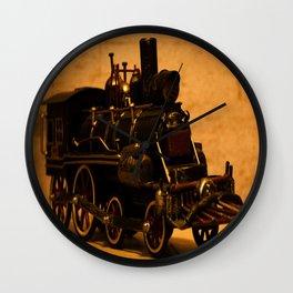 Lost Train One Wall Clock