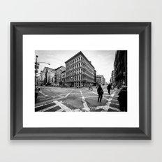 New York Soho Framed Art Print