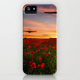 Poppy Vulcans iPhone Case