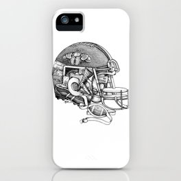 Football Helmet iPhone Case