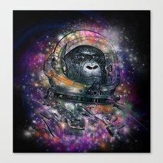 deep space monkey Canvas Print