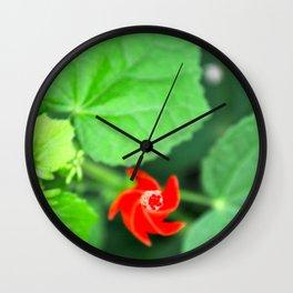 Hot Spiral  Wall Clock