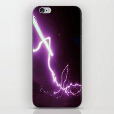 Neon Lights iPhone Skin