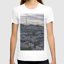 San Francisco - Sutro Tower Chill T-shirt