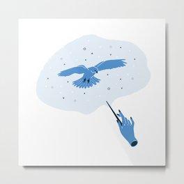 Patronus- Sparrowhawk Metal Print