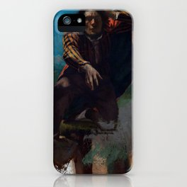 """Gustave Courbet """"The Man Made Mad with Fear"""" iPhone Case"""