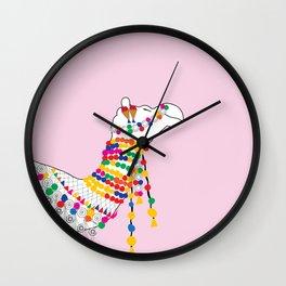 Indian Camel Art/ Colorful Camel Wall Clock