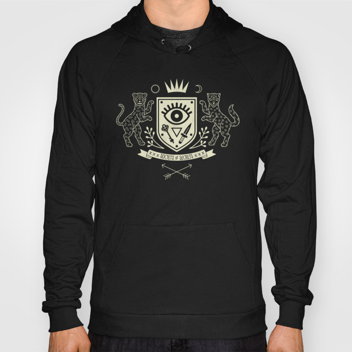 The Secret Society Hoody by camillechew