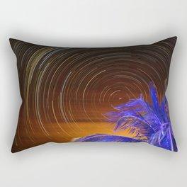 #bluepalm of #keywest #floridakeys #startrails #astrophotography Rectangular Pillow