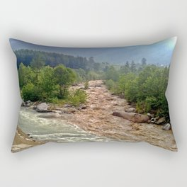 Good and Bad things come together Rectangular Pillow