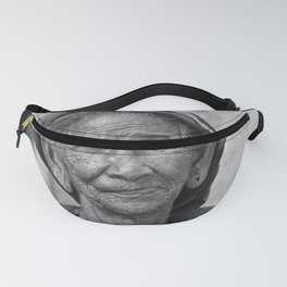 PORTRAIT of an OLD VIETNAMESE WOMAN Fanny Pack