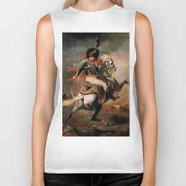 "Théodore Géricault ""Officer of the Chasseurs charging on horseback"" Biker Tank"