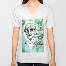 William S. Burroughs Unisex V-Neck