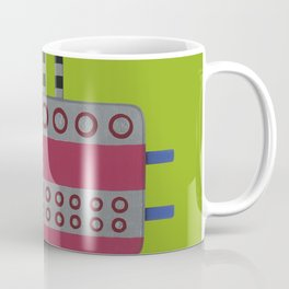 Indian woman with pink breasts Coffee Mug