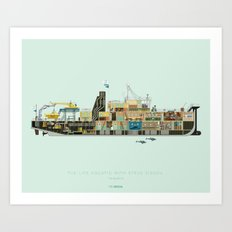 The Life Aquatic with Steve Zissou | Belafonte Art Print