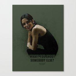 Shaw 4x03 Canvas Print