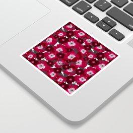 Flowers Overflowing Sticker