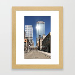 Minneapolis IDS Tower Framed Art Print
