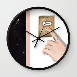 Lumiere Galaxy Wall Clock