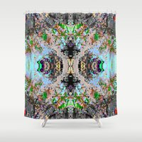 grace Shower Curtains featuring GRACE by CUPZ