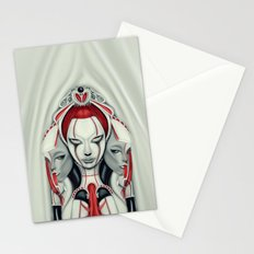 Behind the Curtain Stationery Cards