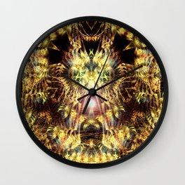 DMT Shaman Visions Wall Clock