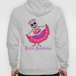 Ballet Folklorico Ladies Sugar Skull Dancer Hoody