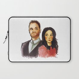 elementary: holmes and watson Laptop Sleeve
