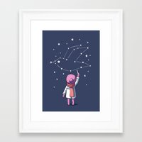 constellation Framed Art Prints featuring Constellation by Freeminds