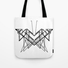 Butterfly without back Tote Bag