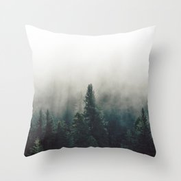Finding Heaven - Nature Photography Throw Pillow