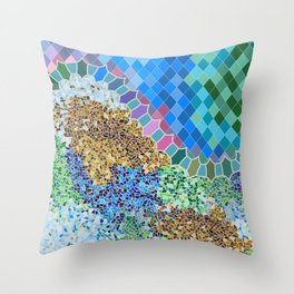 INSPIRED BY GAUDI Throw Pillow