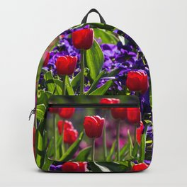 Spring Tulips Backpack