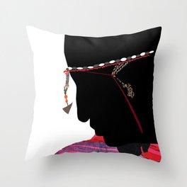Maasai Man Throw Pillow