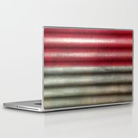 industrial Laptop & iPad Skins featuring 🔵 Industrial Wall by Tru Images Photo Art