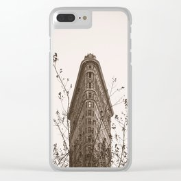 Flatiron In The Fall Clear iPhone Case