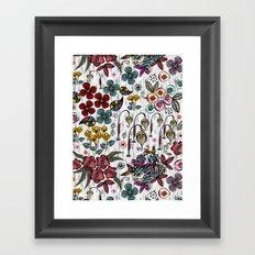 Floral Inspiration Framed Art Print