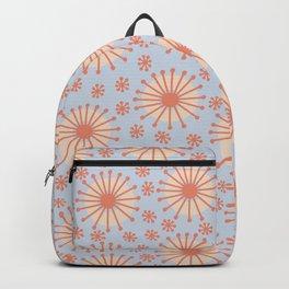Carousel Blue Retro Backpack