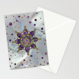 Dharma Wheel  - Dharmachakra Stationery Cards