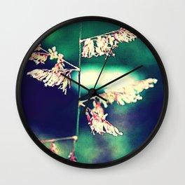 Flowers in Germany Wall Clock