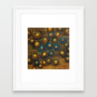 trout Framed Art Prints featuring Trout by Amy S Christenson