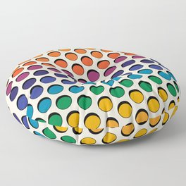 Perforated Floor Pillow